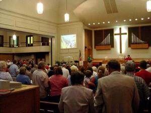 um church service